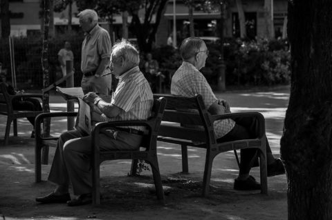 To be together – Miesten hetki puistossa